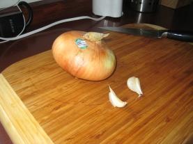 Onion, garlic