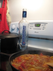Vodka - the optional ingredient!